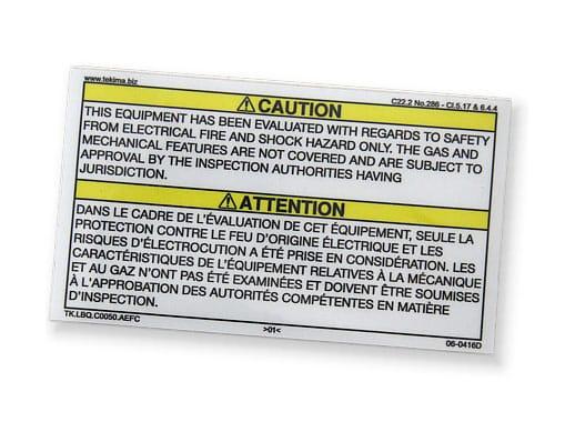 Residual risk in electrical panels - Tekima